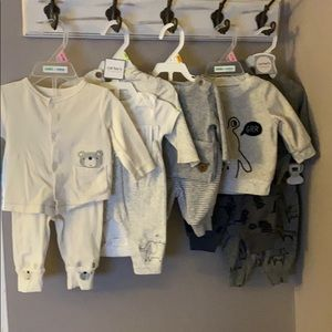 """Carters and carters """"child of mine"""" 5 outfit set"""